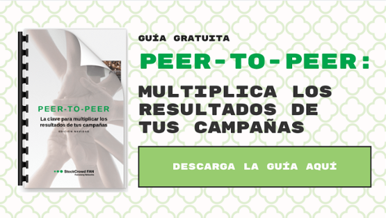 webinar campaña navidad peer to peer