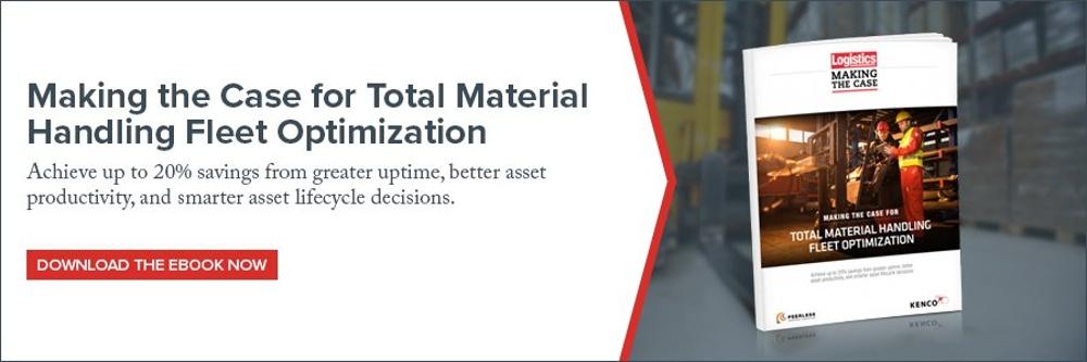 Material Handling Fleet Optimization Ebook