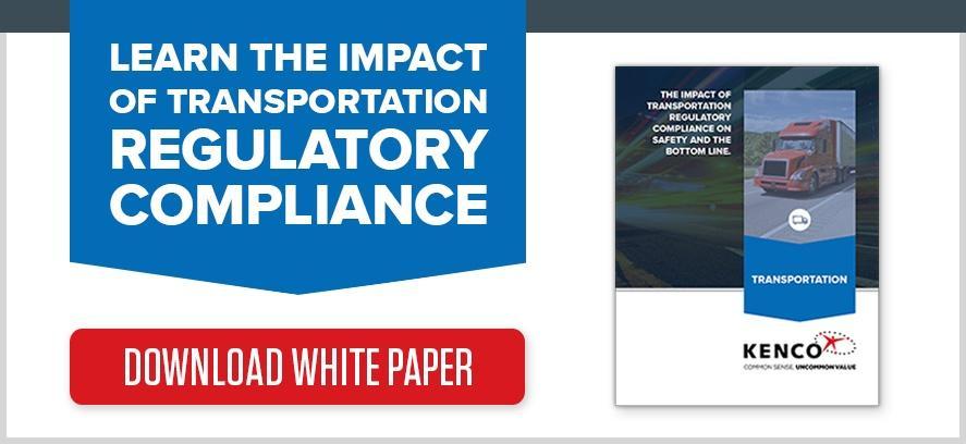 Kenco White Paper Transportation