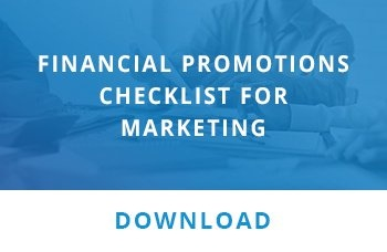 Financial promotions checklist