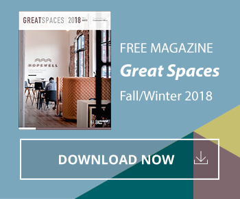 Great Spaces Magazine - Fall/Winter 2018