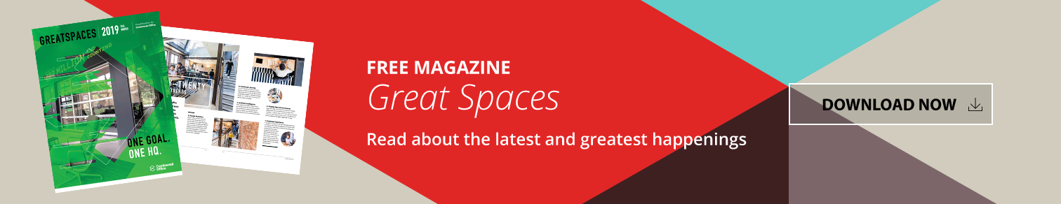 Download Your Copy of Great Spaces Magazine from Continental Office