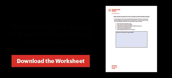 Download Your Branding Worksheet!