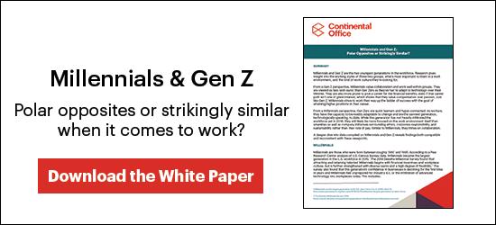 Millennials & Gen Z white paper!