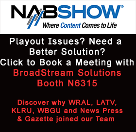Schedule a Meeting with BroadStream at NAB, Booth N6315