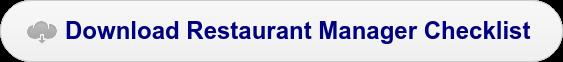 Download Restaurant Manager Checklist