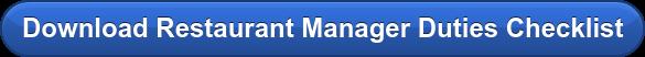 Download Restaurant Manager Duties Checklist