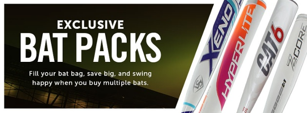 JustBats.com Exclusive Bat Packs