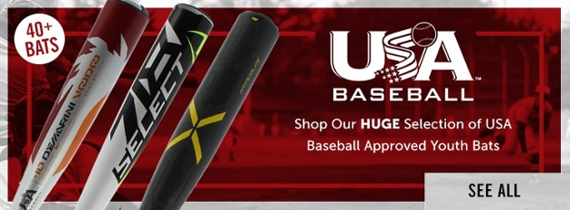 USA Baseball Bats for youth baseball are here