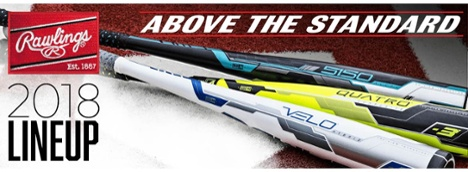 2017 Rawlings Lineup + Quatro on JustBats.com