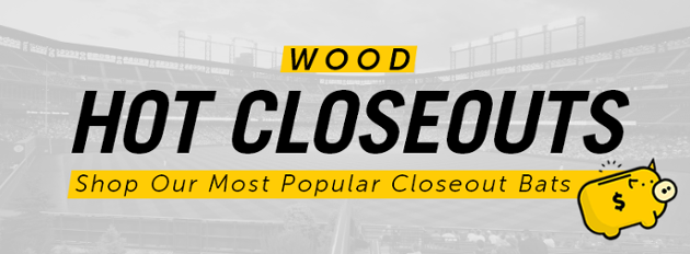 Closeout Wood Bats | Closeout Baseball Bats Wood