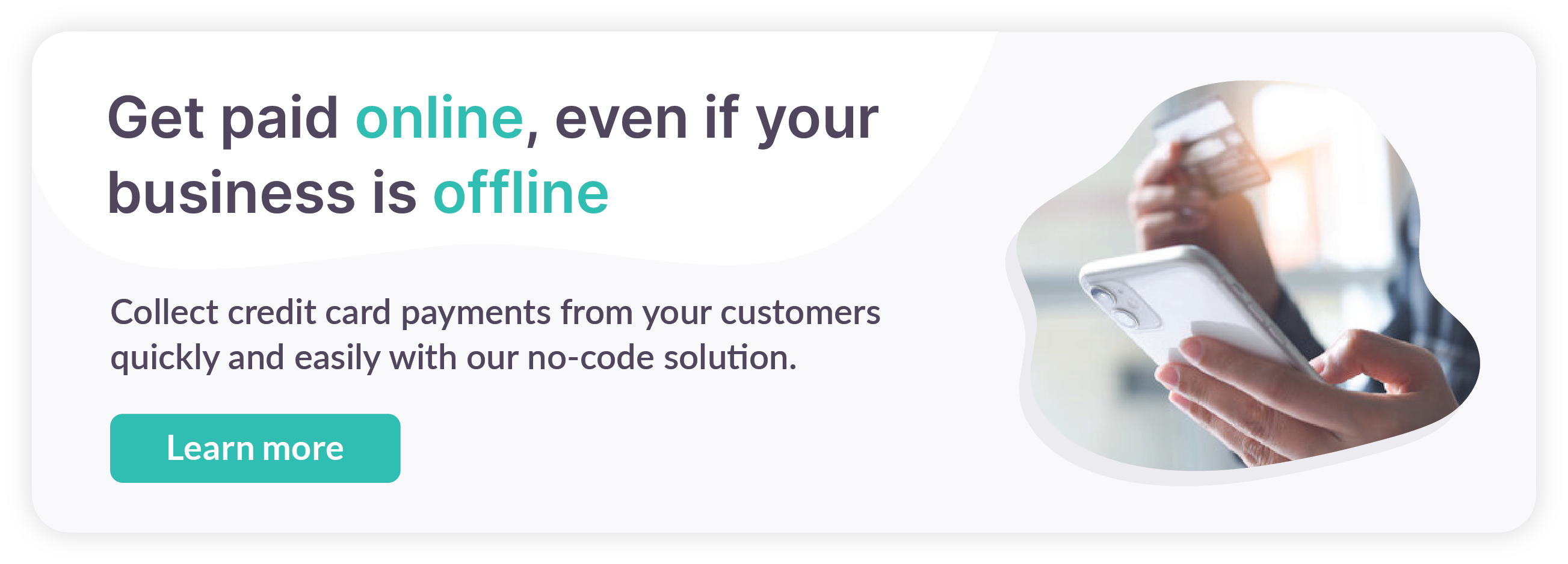 Limited time offer: Collect payments completely free with 0% fee for you and your customers