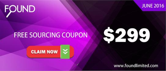 China Sourcing Services 299 USD coupon