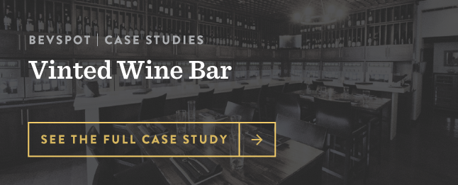 Vinted Wine Bar Case Study BevSpot