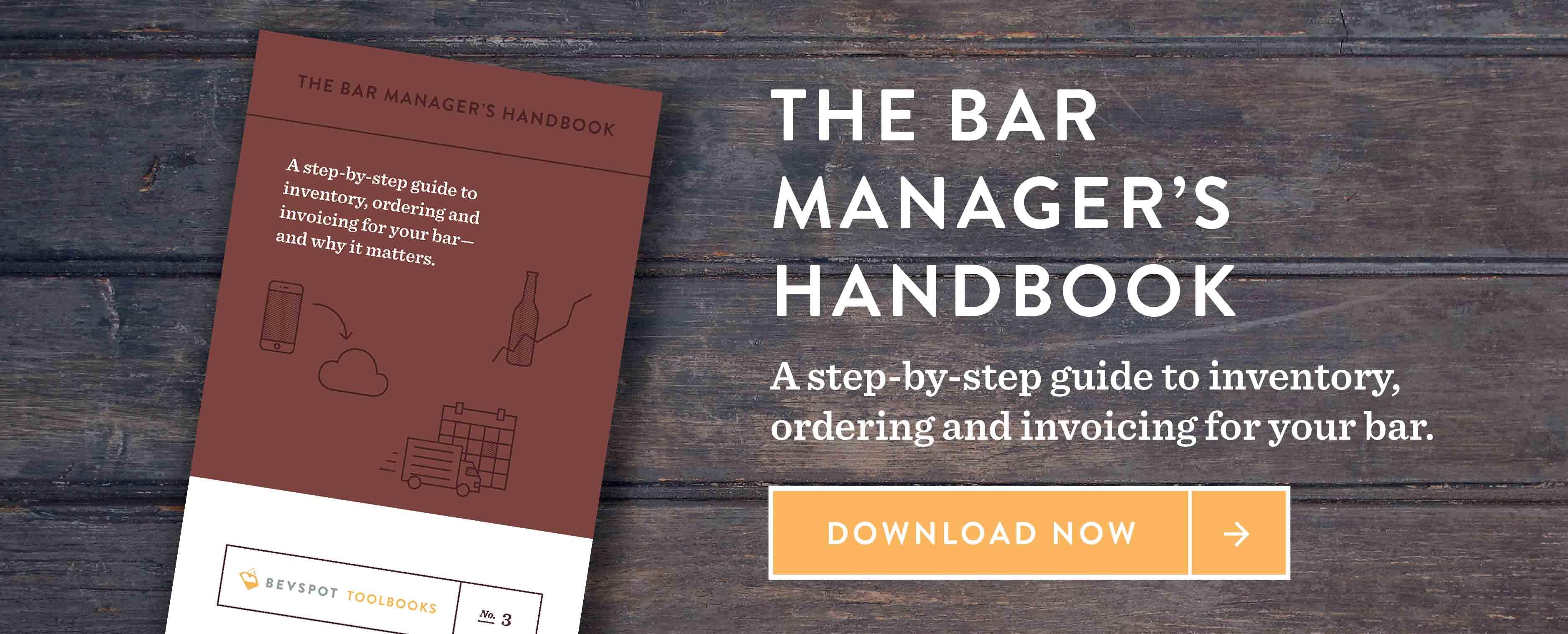 bevspot bar managers handbook