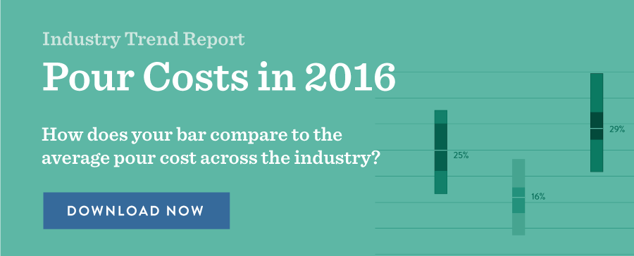 Pour Costs in 2016 Industry Trend Report BevSpot