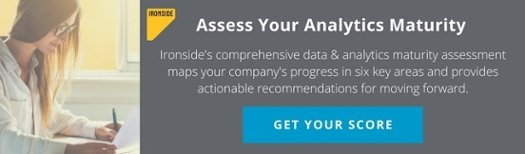 Ironside Data and Analytics Maturity Assessment