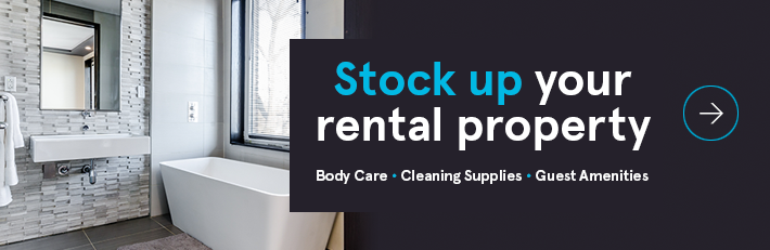 Stock up your rental property today >