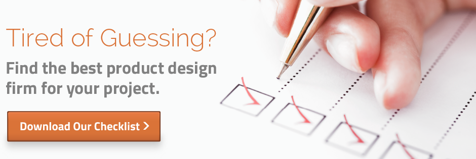 Choosing Product Design Firm Checklist