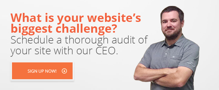 Schedule a thorough website audit today!