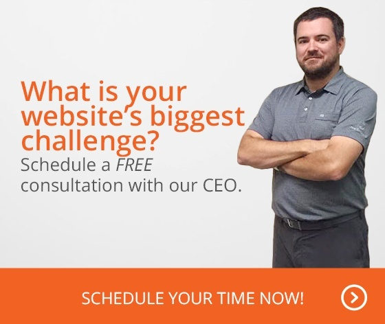 What is your website's biggest challenge? Schedule a FREE consultation with our CEO. Schedule your time now!