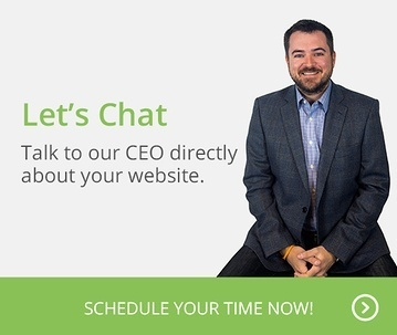Let's Chat. Talk to our CEO directly about your website. Schedule your time now!