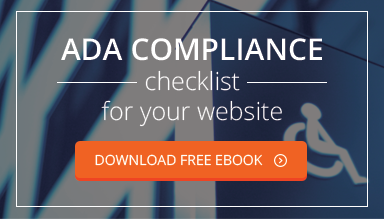 ADA Compliance checklist for your website. Download free ebook.