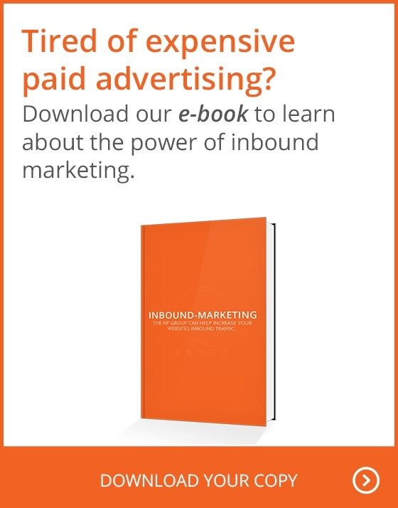 Tired of expensive paid advertising? Download our e-book to learn about the power of inbound marketing. Download your copy.