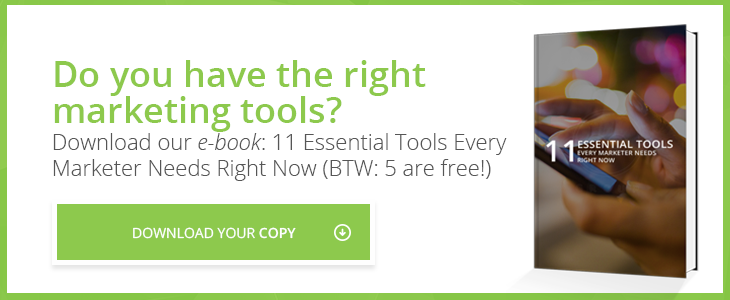 11 Essential Marketing Tools