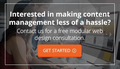 Modular Web Design Consultation