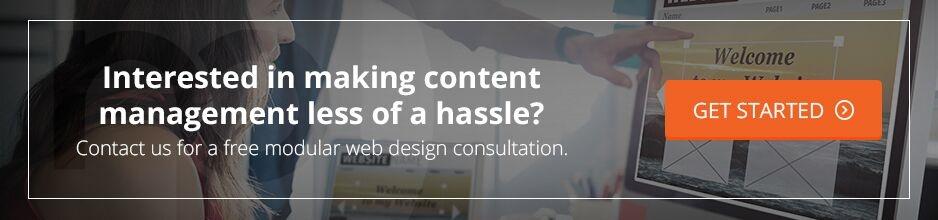 Modular Web Design Consultation