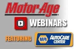 Motor Age Webinars with NAPA