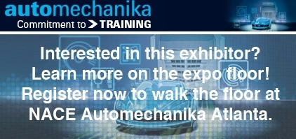 Register to visit this exhibitor at NACE Automechanika