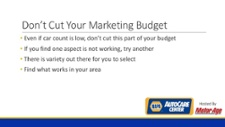 NAPA Marketing Gold Webinar Registration