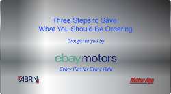 Three Steps to Save eBay Motors Title Slide