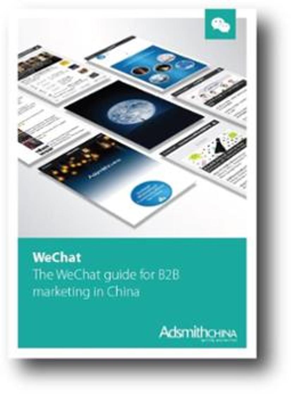 WeChat B2B guide