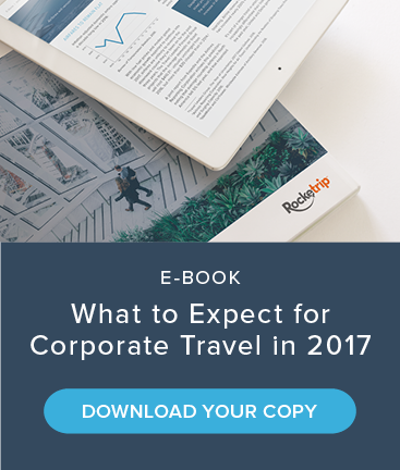 Rocketrip 2016 Business Travel Spend Report. View the Infographic