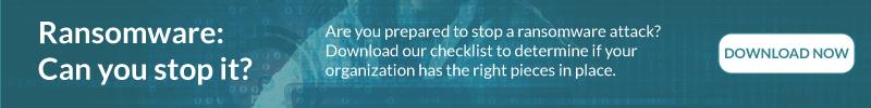 Ransomware Checklist - Are you prepared?