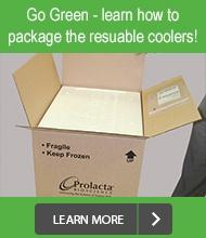 Go green! Learn how to package and ship the resuable coolers