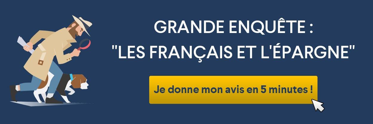 repondre à l'enquête sur l'épargne des francais