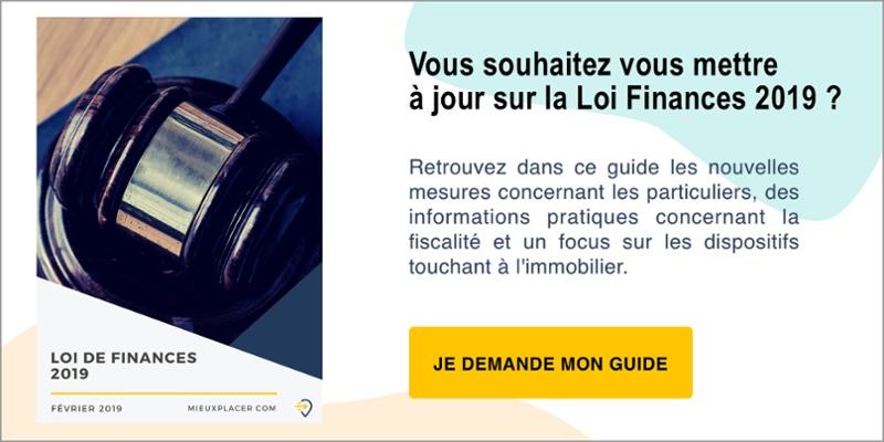 Découvrez toutes les nouveautés de la Loi Finances 2019 dans notre guide gratuit !