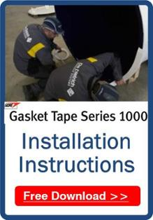 Gore Tape Series 1000 Installation Instruction Banner