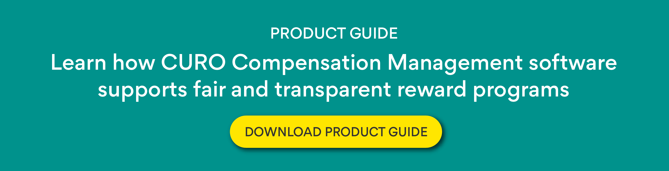 CURO Compensation Management product guide