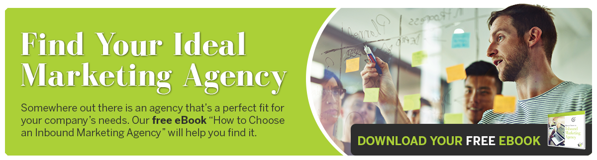 Find Your Ideal Marketing Agency With Our Free eBook!
