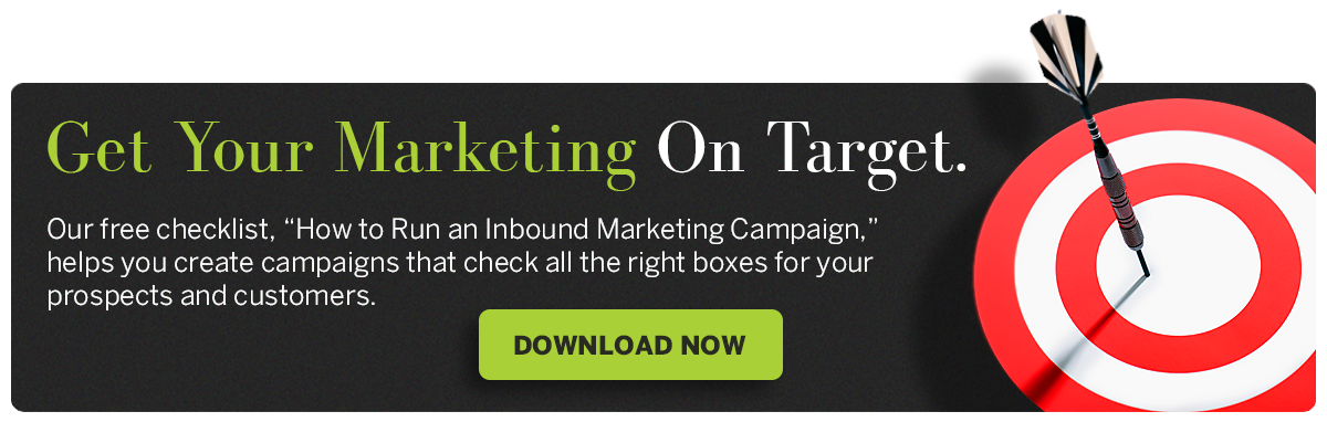 Free Checklist: How to Run an Inbound Marketing Campaign