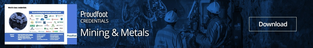 Mining and Metals World Class Credentials