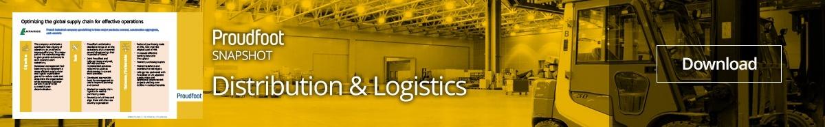 Distribution and Logistics Snapshot Optimize Operations