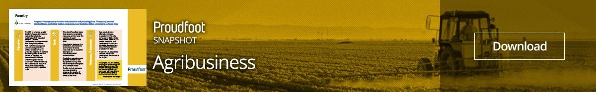 Agribusiness Snapshot Optimizing Resources