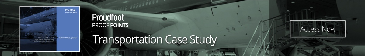 Proudfoot Proof Point - Transportation Case Study