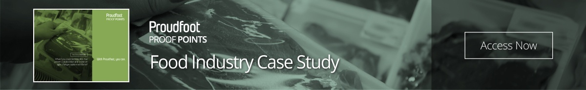 Proudfoot Proof Points - Food Industry Case Study